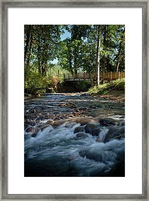 Usa, Oregon, Scio, Crabtree Creek Framed Print