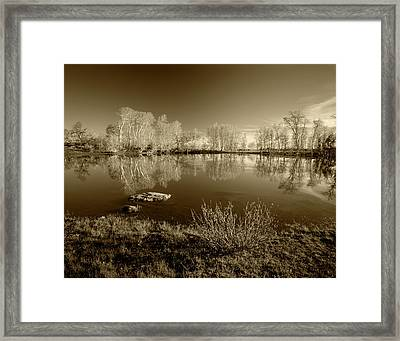 Usa, Oregon, Steen's Mountain National Framed Print by Scott T. Smith