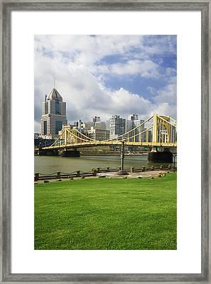 Usa, Pennsylvania, Pittsburgh Framed Print