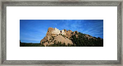 Usa, South Dakota, Keystone, View Framed Print