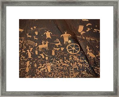 Usa, Utah, Canyonlands National Park Framed Print by David Barnes