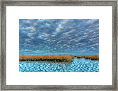 Usa, Virginia Cloudy Scenic Framed Print by Jaynes Gallery