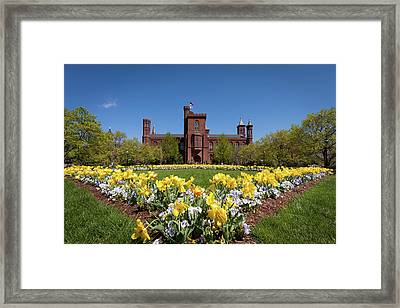 Usa, Washington, Dc Framed Print by Christopher Reed