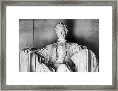 Usa, Washington, Dc Framed Print