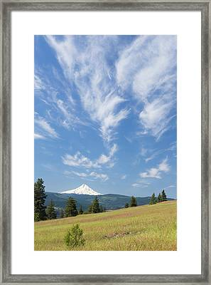 Usa, Washington State, Columbia River Framed Print by Jaynes Gallery