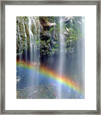 Usa, Washington State, Mount Rainer Framed Print