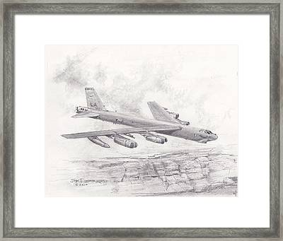 Usaf B-52 Stratofortress  Framed Print