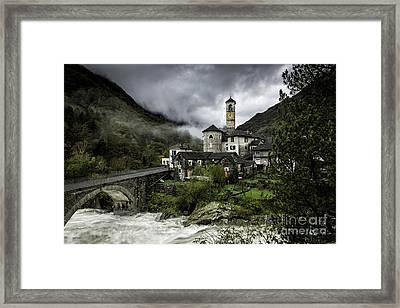 Lavertezzo Switzerland 1 Framed Print by Timothy Hacker
