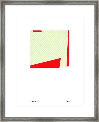 V-v-023 Framed Print by Moran  de Musee