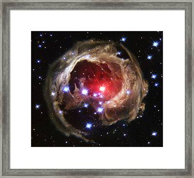 V838 Monocerotis, Red Variable Star Framed Print by Science Source