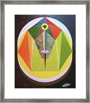 Vaillance Framed Print by Michael Bellon