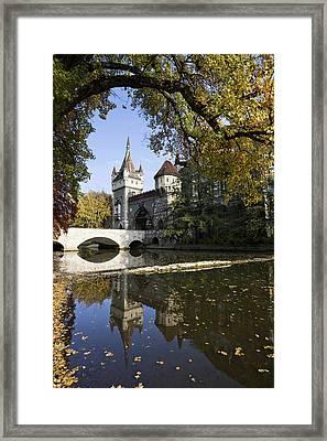 Vajdahunyad Castle In Budapest Framed Print by Martin Zwick