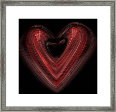 Valentine Framed Print by Christopher Gaston