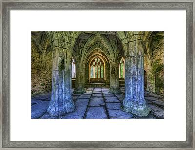 Valle Crucis Framed Print by Ian Mitchell