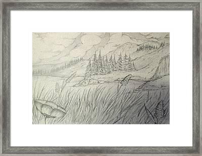Valley Framed Print by Fabrizio Mapelli