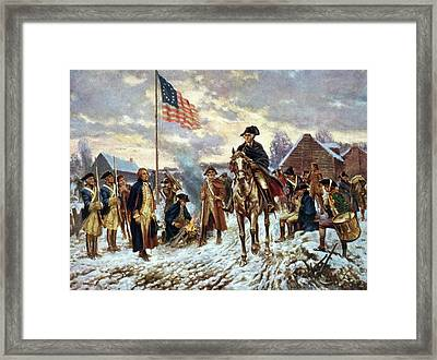 Valley Forge, 1777 Framed Print by Granger