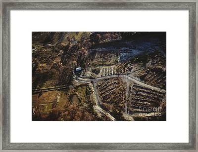 Valley Of The Drums, Bullitt County Framed Print by Van D. Bucher