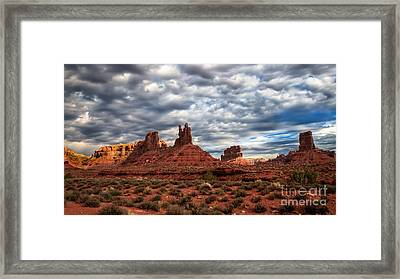 Valley Of The Gods II Framed Print by Robert Bales