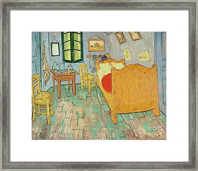Van Goghs Bedroom At Arles Framed Print