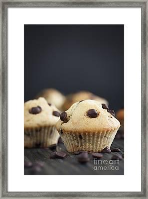 Vanilla Muffins Framed Print by Mythja  Photography