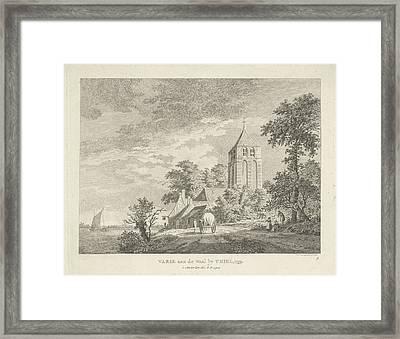 Varik, 1759, Gelderland The Netherlands, 1759 Framed Print