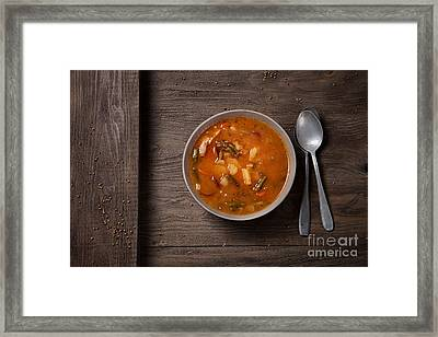 Vegetable Stew Framed Print