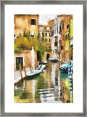 Venice Canals 7 Framed Print by Yury Malkov