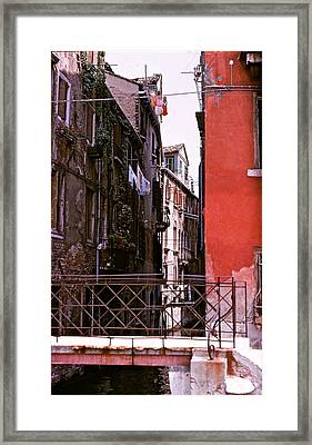 Framed Print featuring the photograph Venice by Ira Shander
