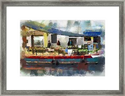 Venice Market Framed Print by Yury Malkov