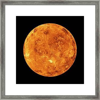 Venus Framed Print by Nasa/jpl