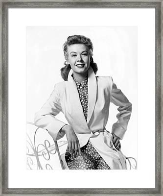 Vera-ellen, Ca. Late 1940s Framed Print by Everett