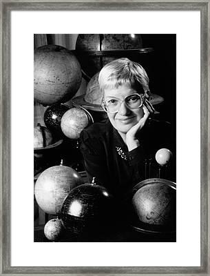 Vera Rubin Framed Print by Emilio Segre Visual Archives/american Institute Of Physics