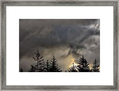 Vernal Equinox Sunrise Framed Print by Thomas R Fletcher