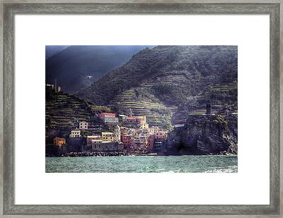 Vernazza Framed Print by Joana Kruse