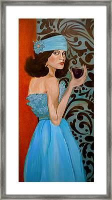 Veronica Framed Print by Debi Starr