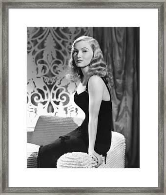 Veronica Lake, Ca. Early 1940s Framed Print