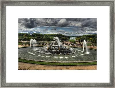 Versailles Fountain Framed Print