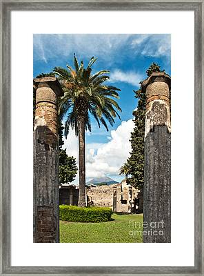 Vesuvius Framed Print by Marion Galt