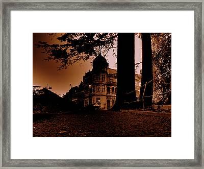 Viceregal Lodge Shimla Framed Print by Salman Ravish