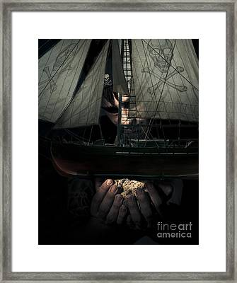 Victory Of Conquest Framed Print