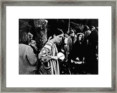 Vietnam War Protest Framed Print by Underwood Archives Lubliner