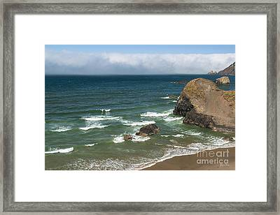 View From Ecola Point Framed Print