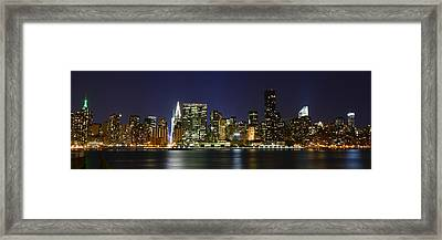View From Gantry Plaza State Park Framed Print by Theodore Jones