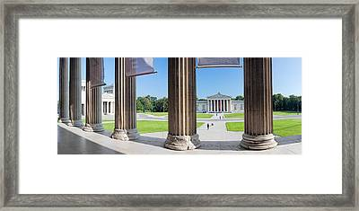 View From Staatliche Antikensammlung Framed Print by Panoramic Images