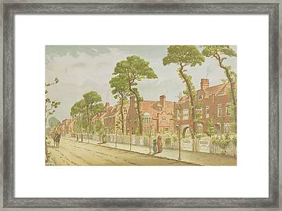 View Of Bedford Park, 1882 Framed Print by English School