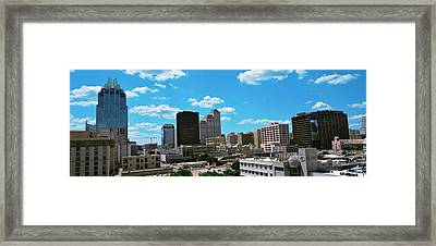 View Of Buildings In Austin, Texas, Usa Framed Print by Panoramic Images