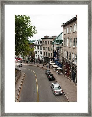 View Of Cote De La Montagne  Framed Print by Rosemary Legge