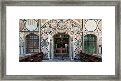 View Of Mosque, El-jazzar Mosque, Acre Framed Print