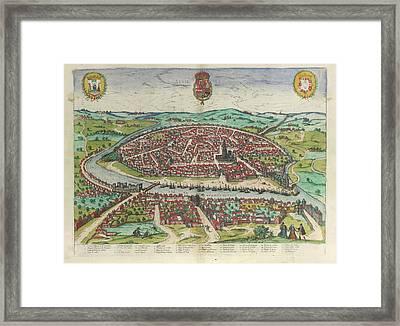 View Of Seville Framed Print