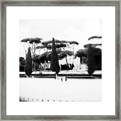 Villa Borghese Framed Print by Eugenia Kirikova